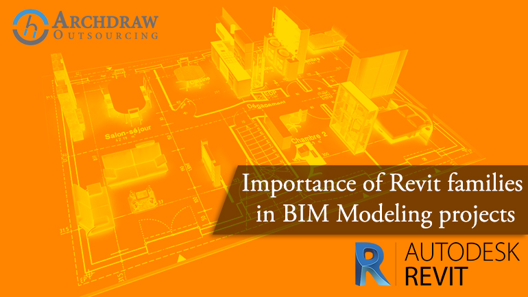Importance of Revit families in BIM Modeling projects